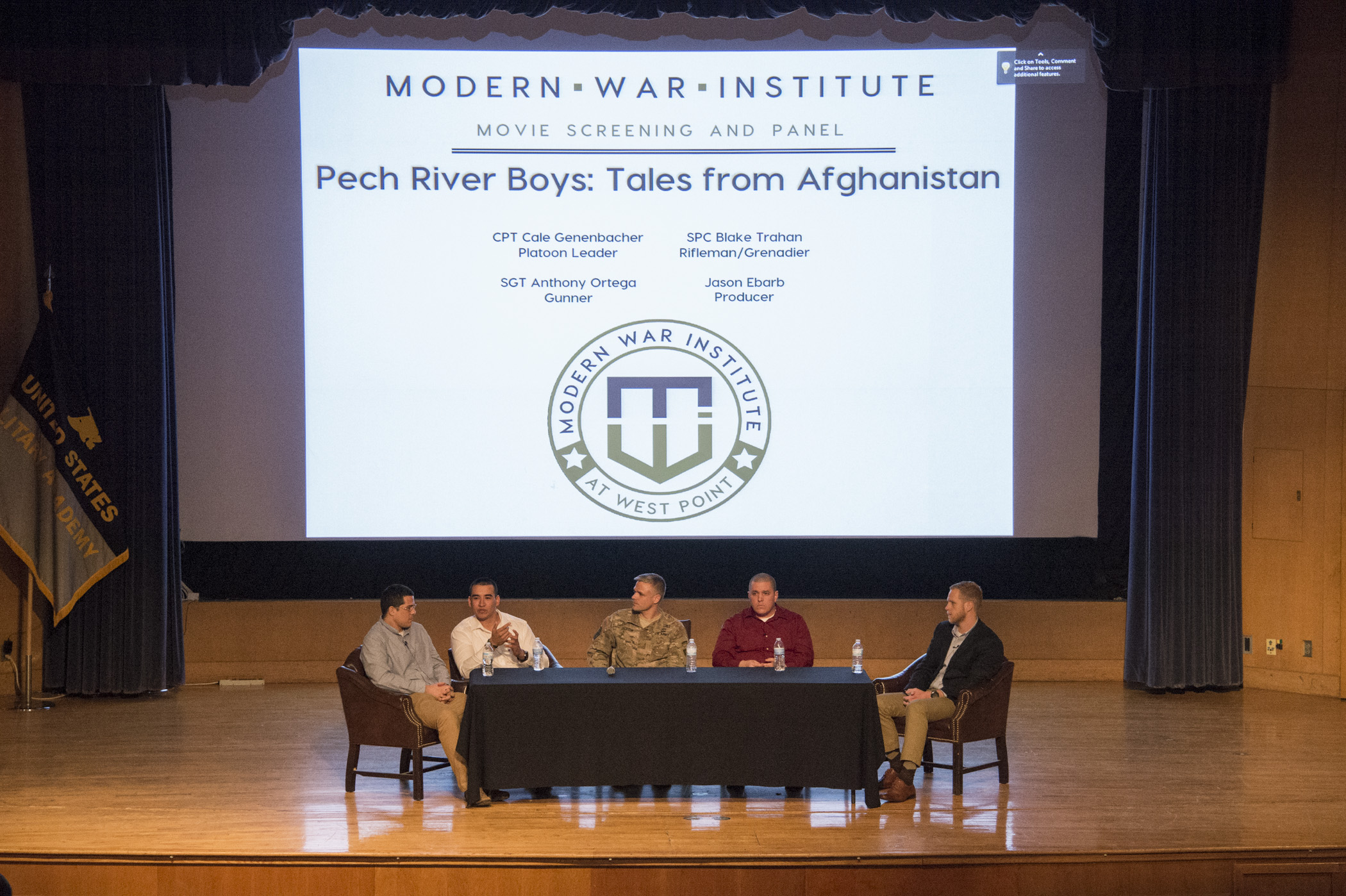 "MWI shows Documentary ""Pech River Boys: Tales from Afghanistan"""