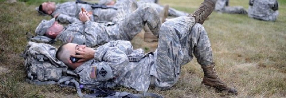 Unplug, Soldier! Too Much Online Time is Hurting the Army