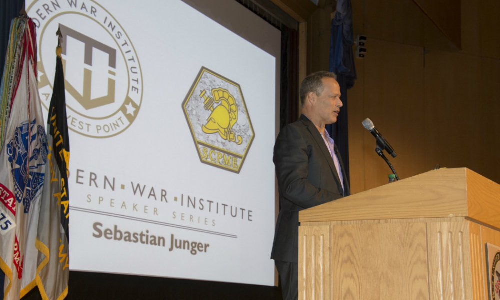 Sebastian Junger Discusses Difficulties of Veterans Returning Home