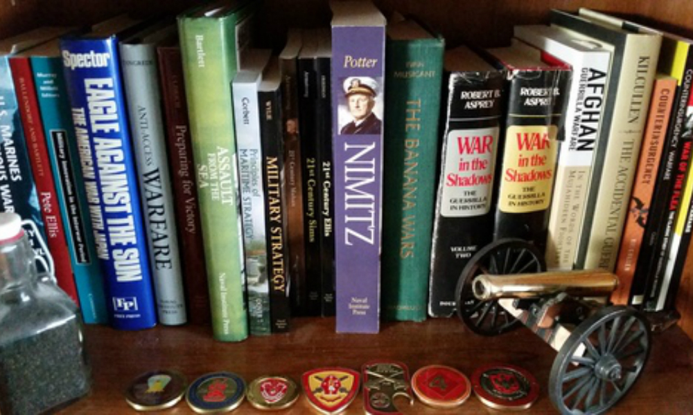War Books Profile: Capt. Brett Friedman, USMC