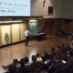 Max Brooks Talks Creativity with Cadets