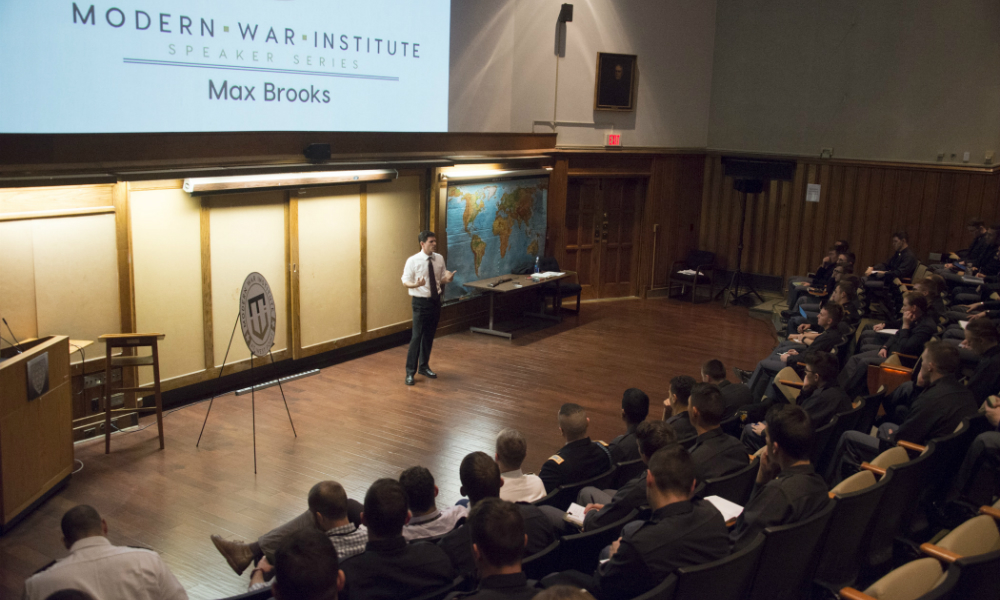 Video: Max Brooks on the Importance of Championing Creativity in the Military