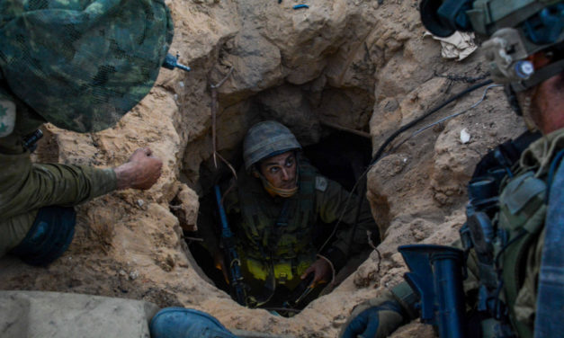 MWI Podcast: Tunnel Warfare and Robots with IDF Brig. Gen. Nechemya Sokal