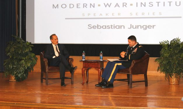 "Video: Sebastian Junger on his New Documentary, ""Hell on Earth"""