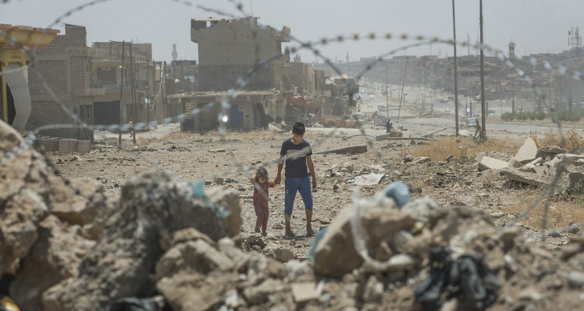 Sticker Shock: The World Just Got the Bill for Rebuilding War-Ravaged Cities in Iraq
