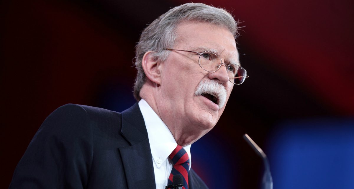 Dancing with the Devil? Why John Bolton Could be the Man Who Keeps America out of War