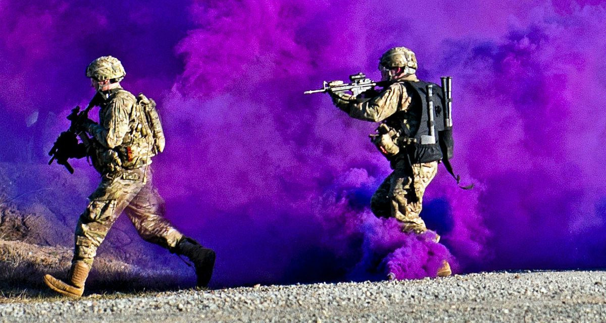 Soldier Swarm: New Ground Combat Tactics for the Era of Multi-Domain Battle