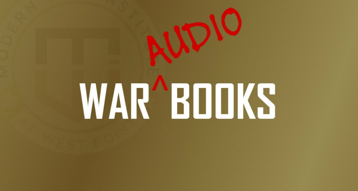 War Books, Audiobook Edition: Max Brooks and Maj. John Spencer