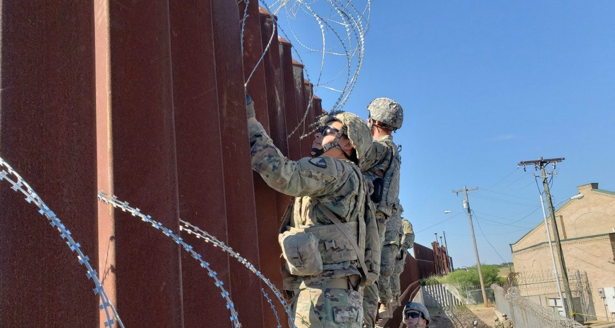 What the Armed Forces Can, Can't, and Might Do at the Border