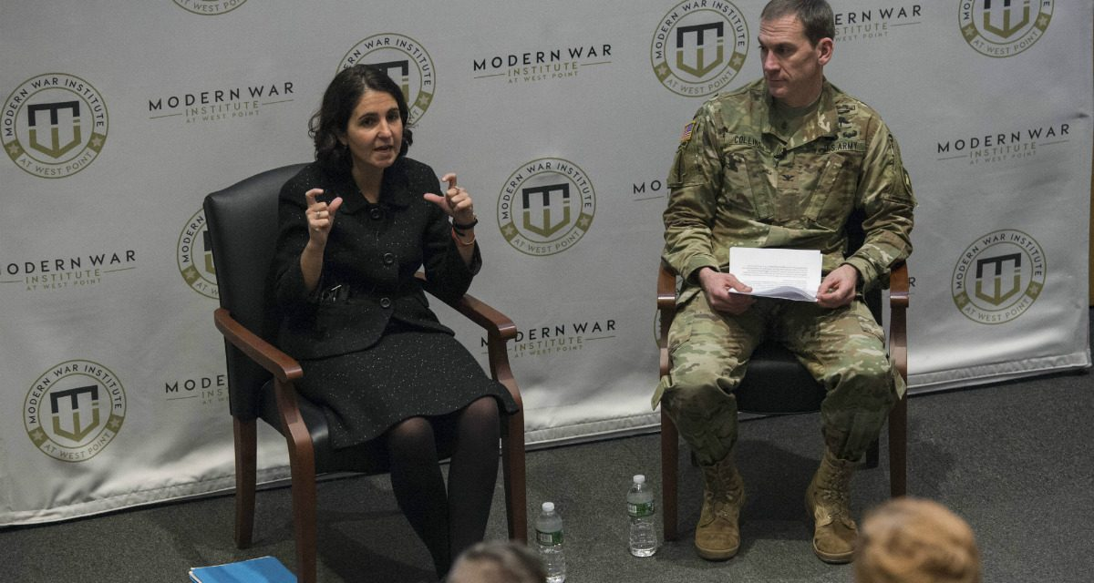 "MWI Video: ""Building Militaries in Fragile States"" – Dr. Mara Karlin"