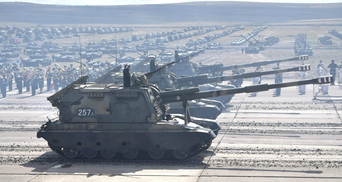 Return of the King of Battle: Russia Breaks out the Big Guns