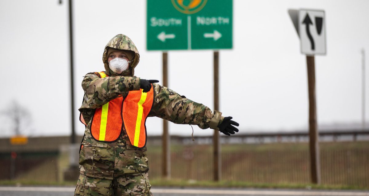 The Military and the Pandemic: An Explainer of the National Guard's Role in the COVID-19 Response