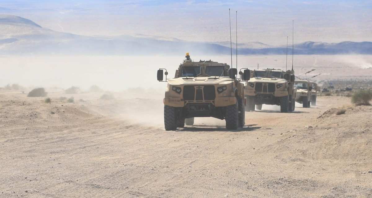 Stuck in the Sand: Why the Joint Light Tactical Vehicle is Ill-Equipped for Tomorrow's Battlefield