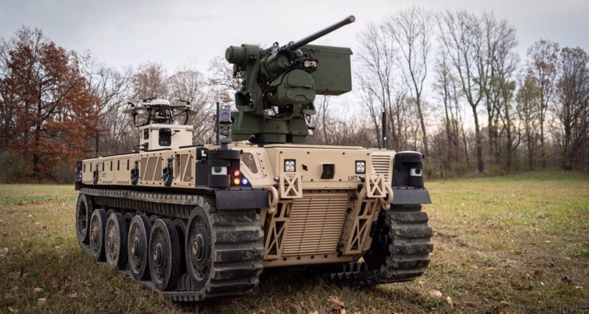 An Unmanned, Tank-Killing Solution to the Problem of Multi-Domain Operations