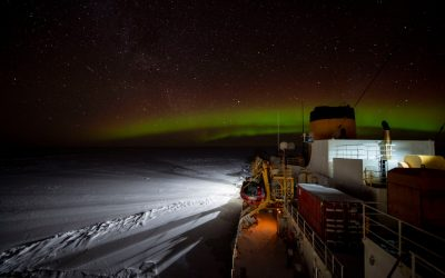 Breaking Ice in Darkness: Reflections from an Ice Pilot's Winter Mission to the Arctic