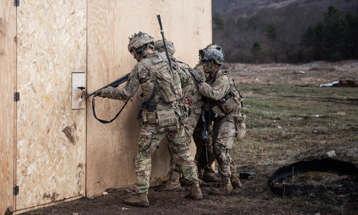 Enter and Clear a Room: The History of Battle Drill 6, and Why the Army Needs More Tactical Training like It—not Less - Modern War Institute