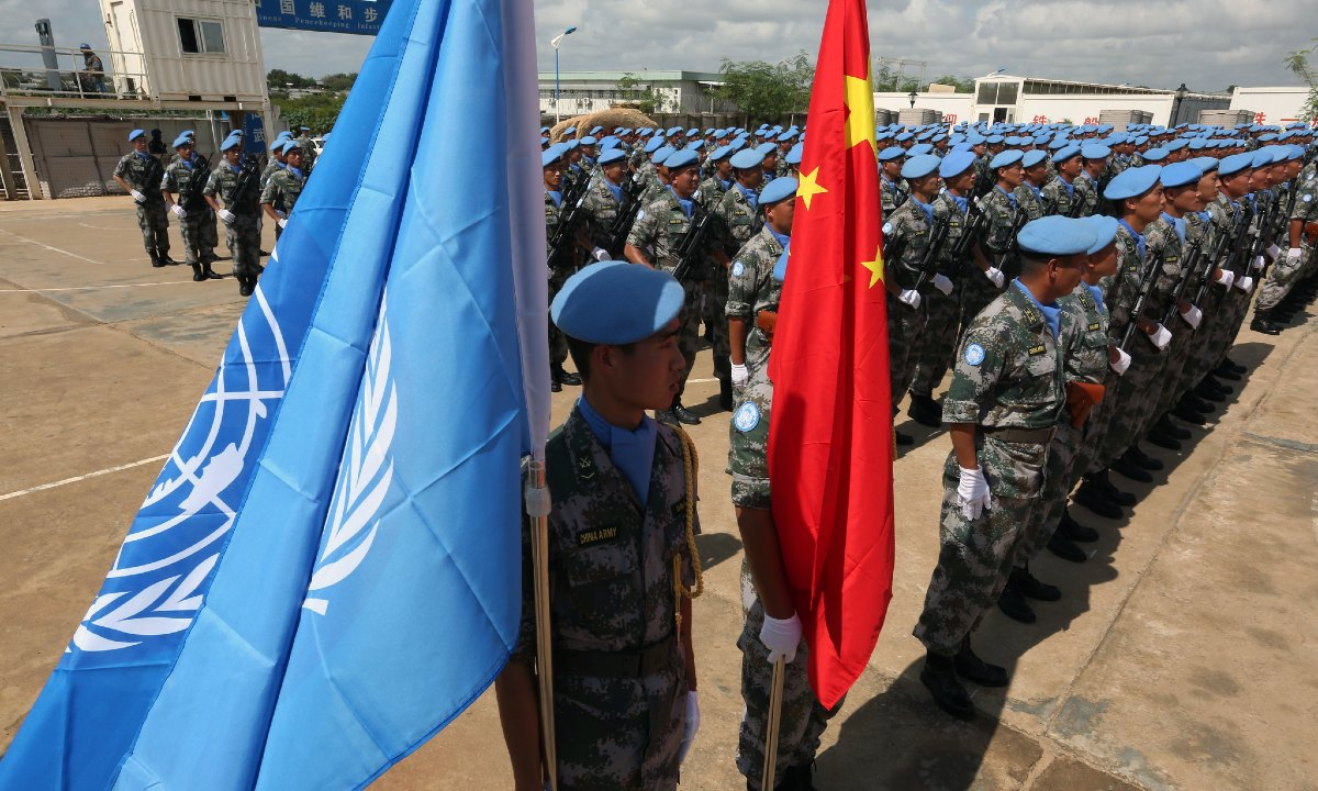 Beijing's Blue Helmets: What to Make of China's Role in UN Peacekeeping in Africa – Modern War Institute